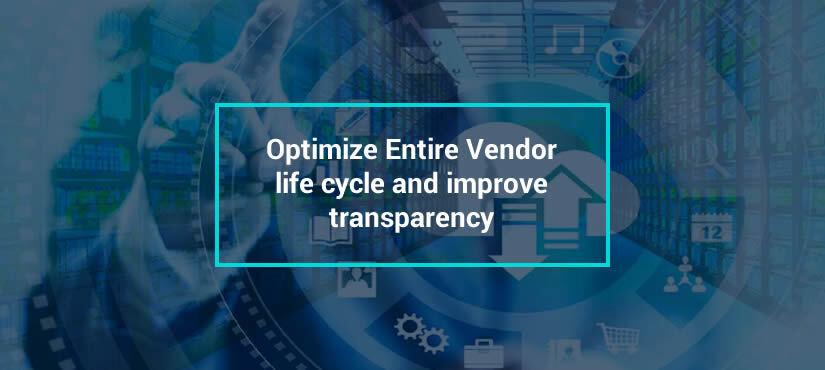 Web Based Vendor Management Software
